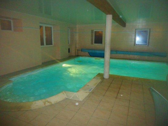 Logis de la Poste : piscine chauffée