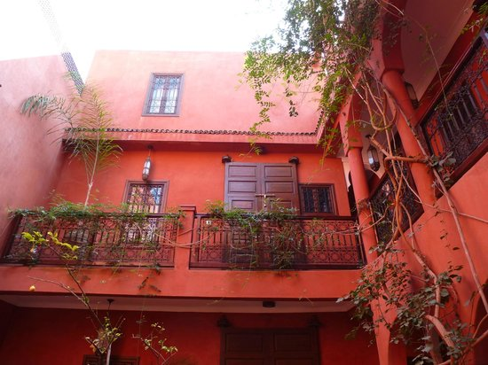Riad Honey Sarl: Innenhof