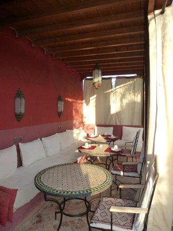 Riad Honey Sarl: Dachterrasse