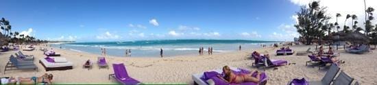 Paradisus Punta Cana: la playa en el Paradisus en Bavaro
