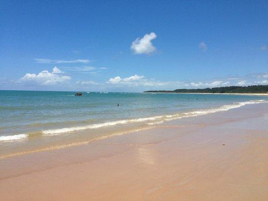 Rio Verde Beach: Areia e mar
