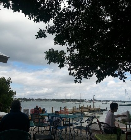 Bridge Tender Inn Bradenton Beach outdoor seating