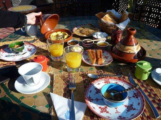 Riad Alili : Petit déjeuner....excellent et varié