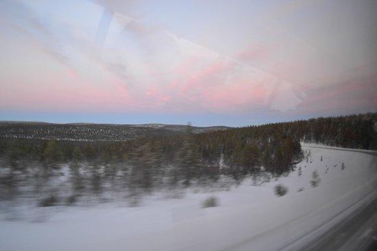 Santa's Hotel Tunturi: Saariselka forests