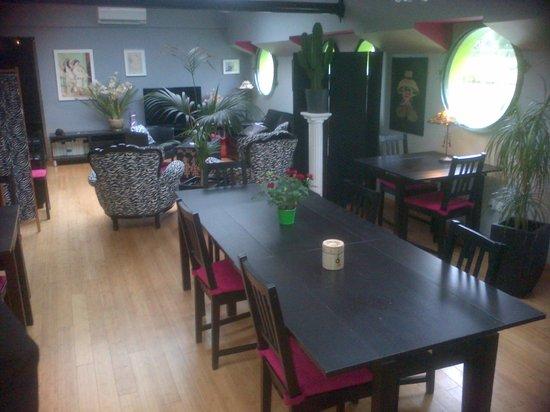 Peniche Amboise : la salle à manger