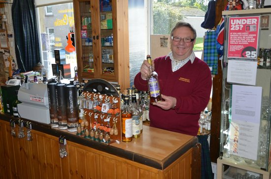 The Whisky Castle: Mike Drury, The Happy Pourer.