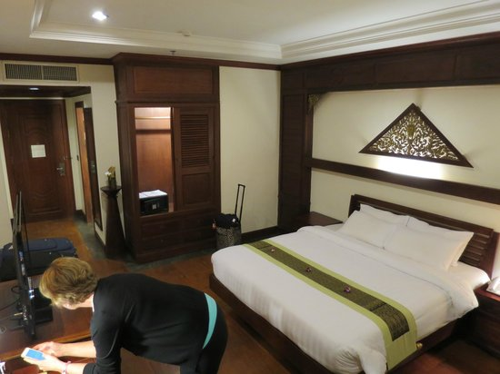 Borei Angkor Resort & Spa: our room