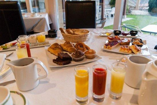 El Milano Real: Desayuno