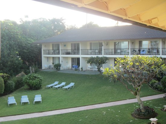 Napili Surf Beach Resort: View of other units from unit 208