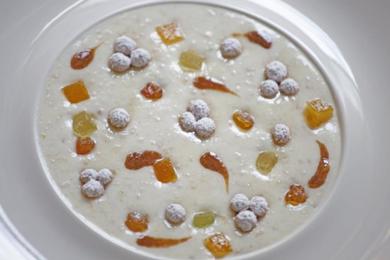 Restaurant Umami : zuppa di pastiera napoletana
