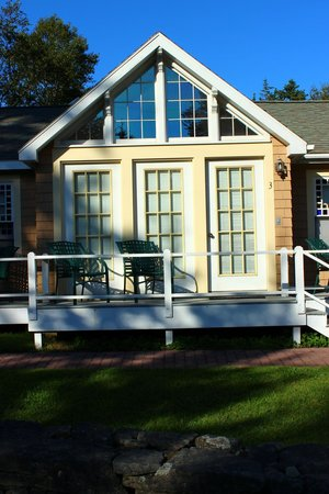 Hotel Pemaquid: Sunrise Room in Burnside