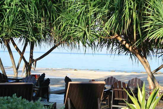 Lanta Castaway Beach Resort: Lunchutsikt