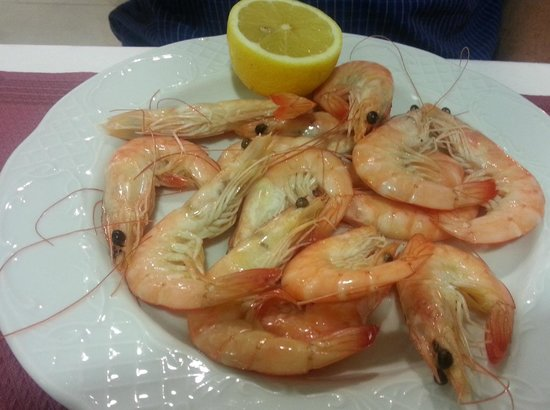Hotel Elimar : Lovely prawns which was only on menu once