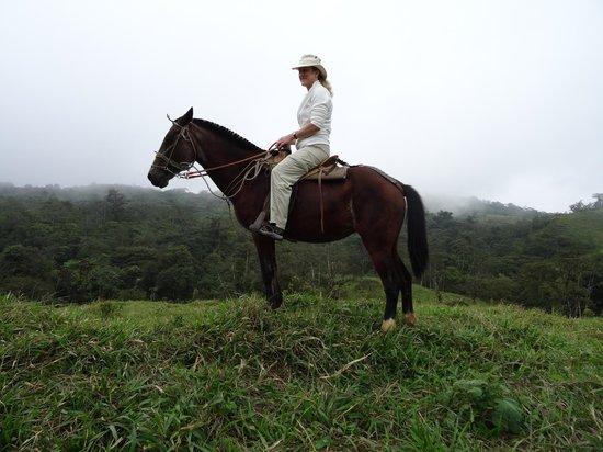 Villa Blanca Cloud Forest Hotel and Nature Reserve: riding in surrounding hills