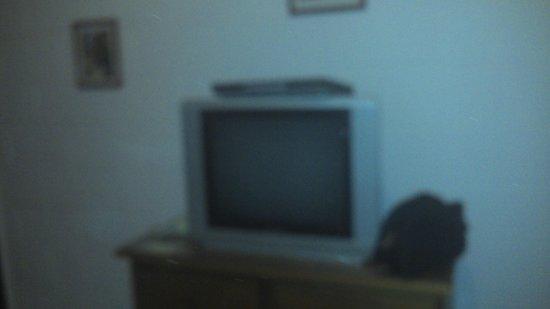 Bad-Wiessee Apart Hotel: tv habitacion