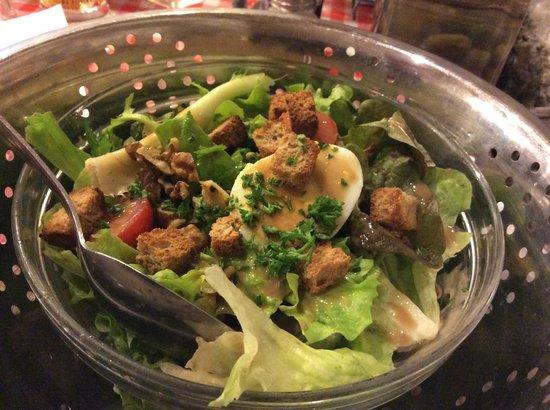 La Ferme à Dédé - Grenoble Centre : Salade de noix
