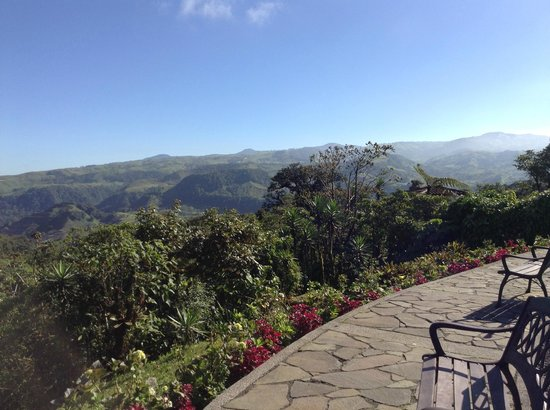 Villa Blanca Cloud Forest Hotel and Nature Reserve : wonderful views