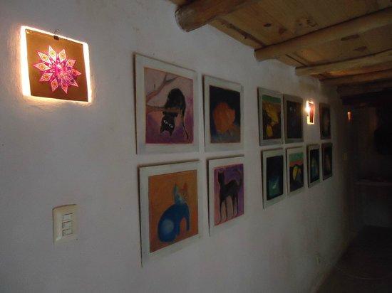 Lolo Lorena : obras de arte de la habitación