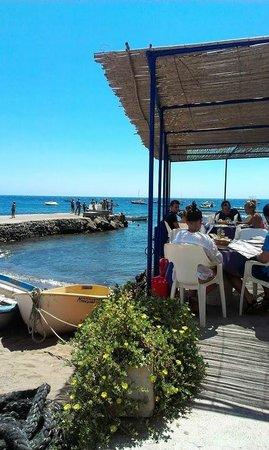 Hostal Restaurante Isleta Del Moro : side entry to restaurant