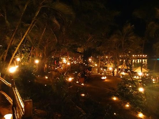 Rhythms of the Night by Vallarta Adventures: All the candles lighting the way