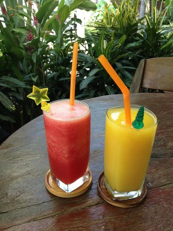 Thip Residence Boutique Hotel: fresh juices