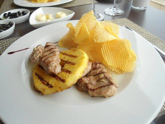 Montebelo Aguieira Lake Resort & Spa: lombinho de porco