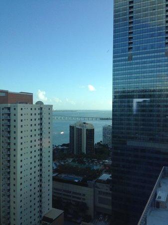 Conrad Miami: View from Room 2013