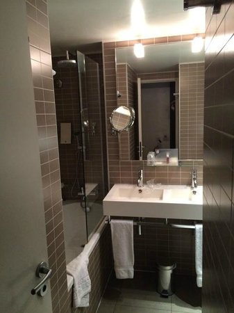 Hotel Holiday Inn Paris Gare Montparnasse: il mini bagno...