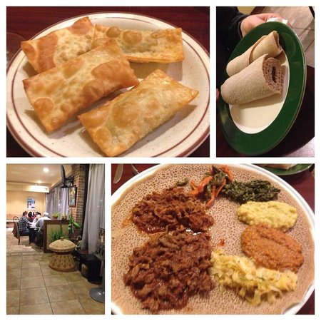 Appetizers and entrees picture of emanu east african for Angie s african cuisine