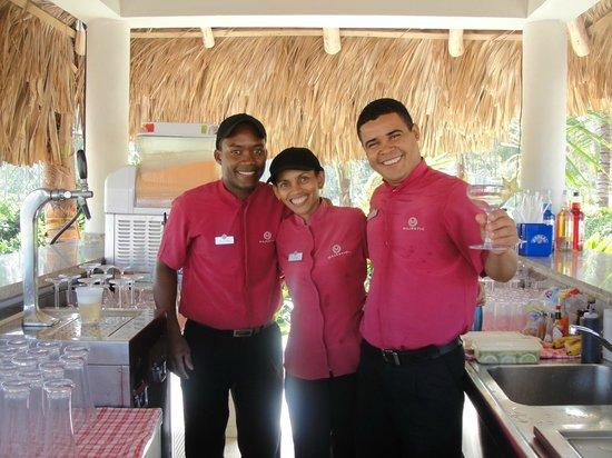 Majestic Elegance Punta Cana: Julio Cesar, Clara, Kelin Antonio...Great Service