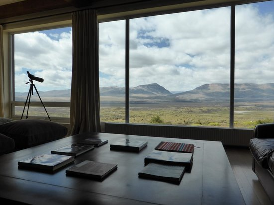 EOLO - Patagonia's Spirit - Relais & Chateaux: Living Room