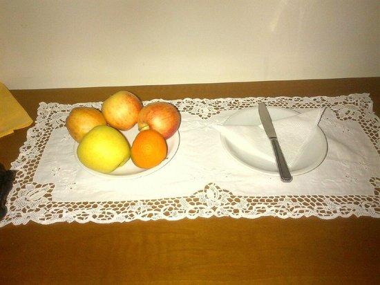 DecoHotel : Frutta nella stanza