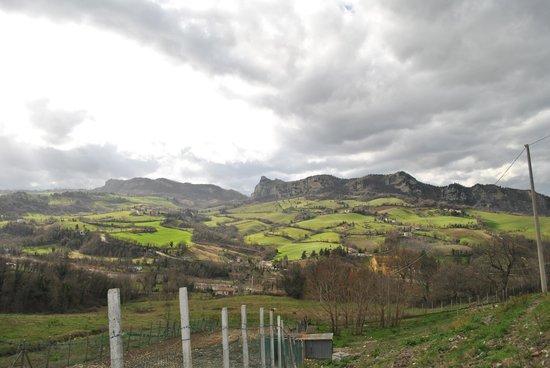 Agriturismo Poggio Duca: veduta panoramica