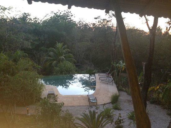 Hacienda del Sol Wellness Centre : View from the dining area