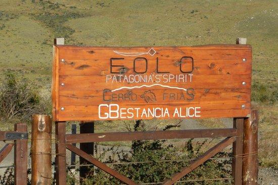 EOLO - Patagonia's Spirit: Gate Entrance
