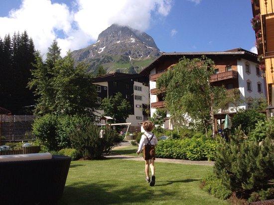 Hotel Gotthard: Garten