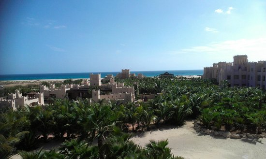 Hotel Riu Touareg: View from the balcony