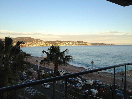 Radisson Blu Hotel, Nice: Balcony view