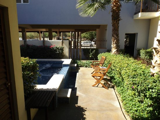 San Angel Suites : Area de Jacuzzi