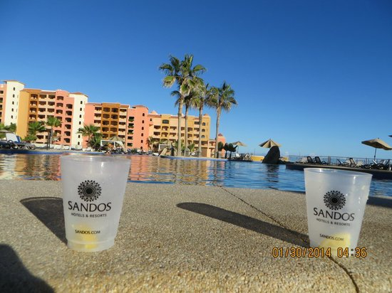 Sandos Finisterra Los Cabos: Our view from the hot tub!