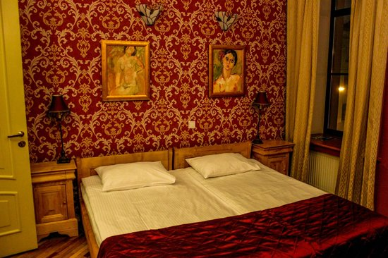 Rachmaninov Art-Hotel : Notre chambre à l'hôtel