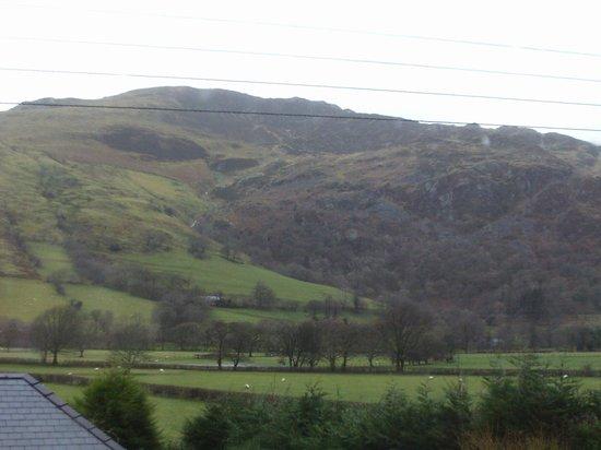 Dolffanog Fach: View of Cadair Idris from Carroll
