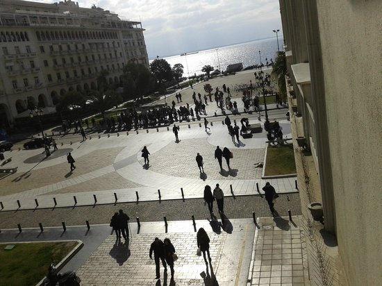 Electra Palace Hotel Thessaloniki : View from room