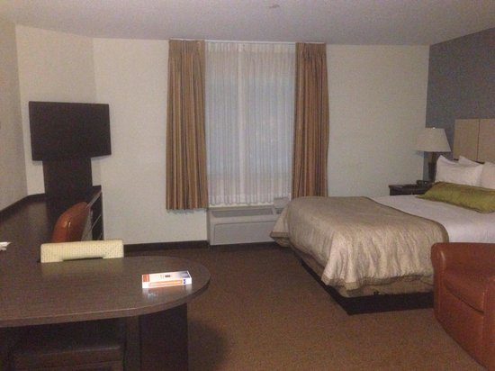 Candlewood Suites - Boston Braintree: Nice room