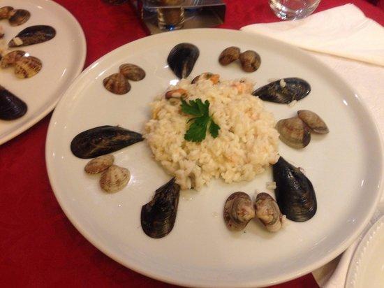 Trattoria Ca' Foscari Al Canton: Risotto seafood