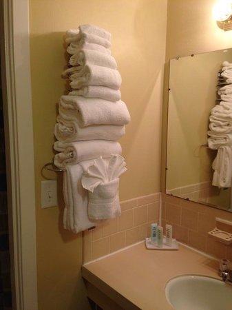 Cape Colony Inn: Plenty of towels