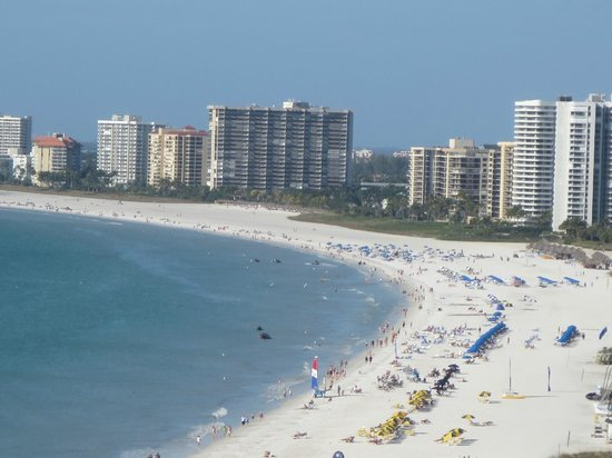 Sea Winds of Marco: looking north from balcony