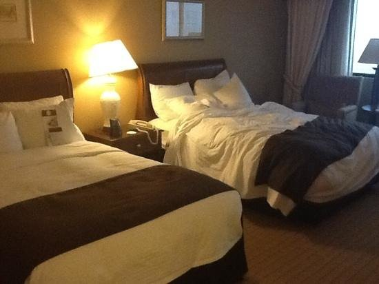 DoubleTree by Hilton Hotel Newark Airport: beds