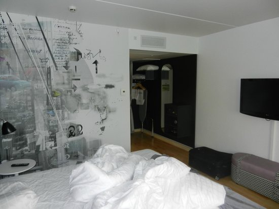 Scandic Copenhagen: our room