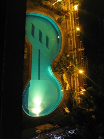 New Siam Riverside Guest House: Blick vom Balkon